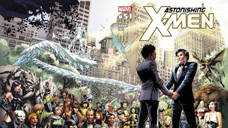 The up and coming gay wedding in Marvel comics this June