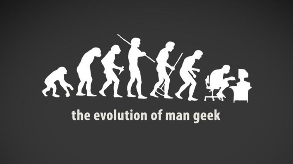 evolution of man geek_feature