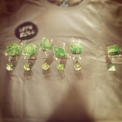 Geeky Dice Shirt