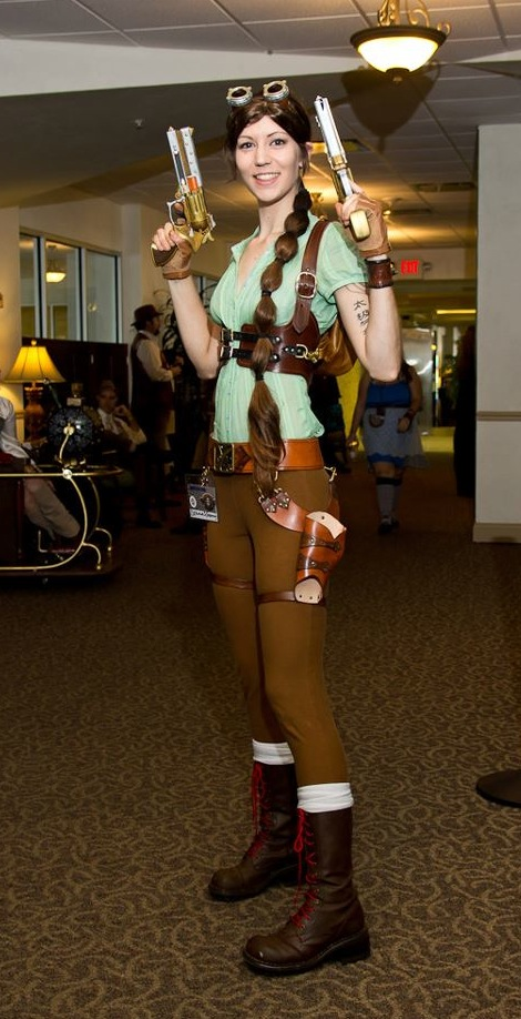 Deanna as Steam Punk Lara