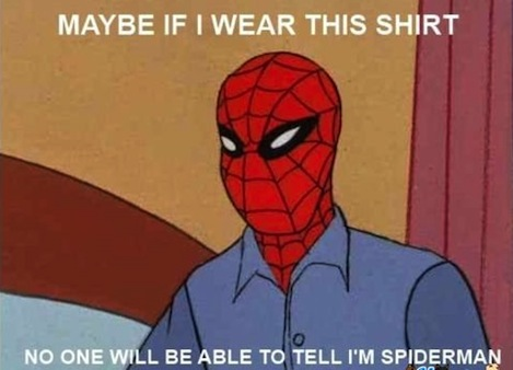 spider-man disguise