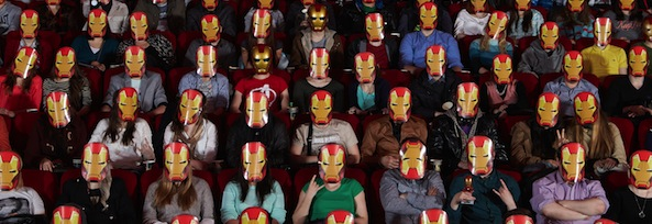 Iron Man in theatres
