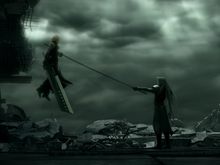 Cloud vs Sephiroth by supernova98