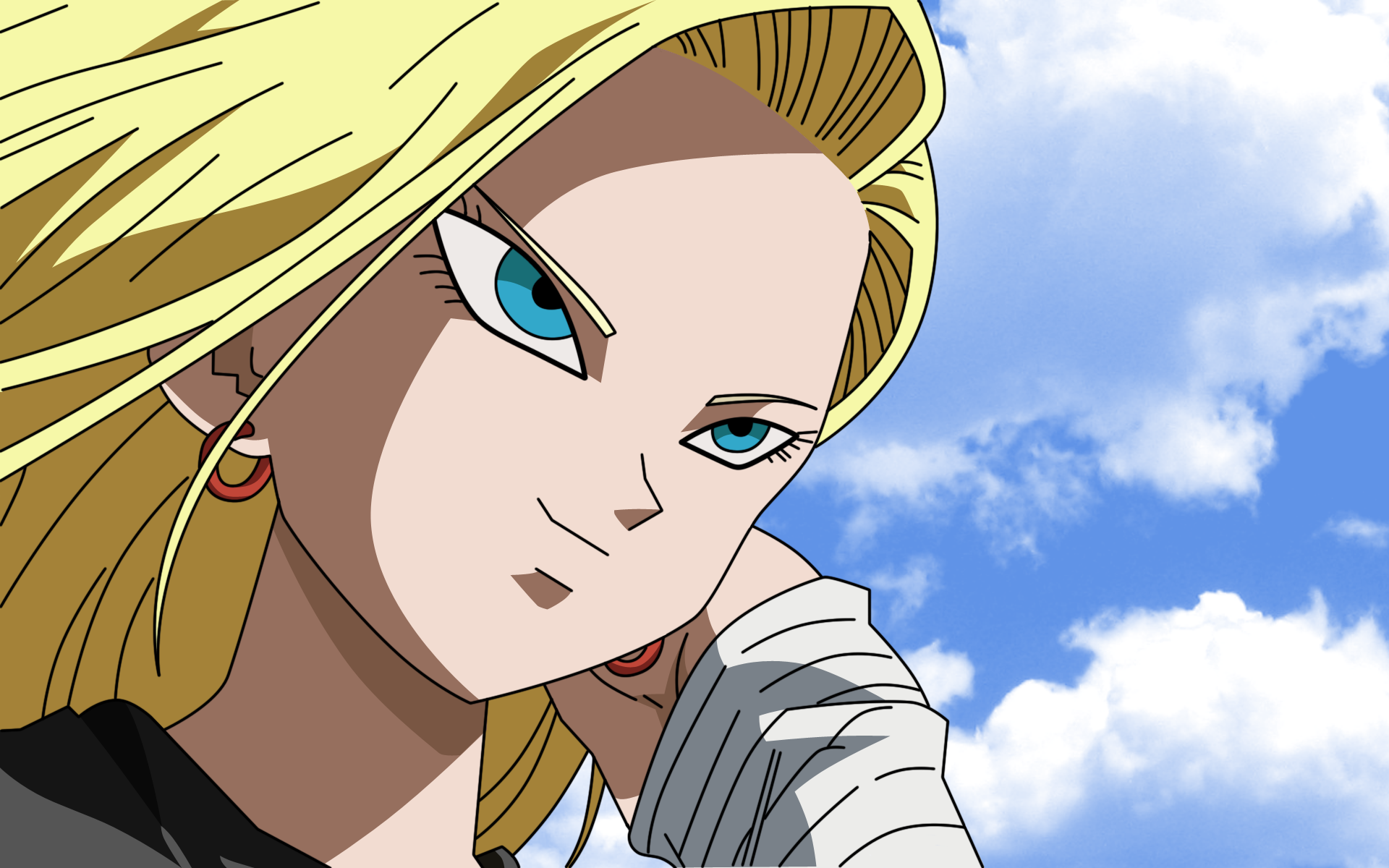 Dragon ball z android 18 ass