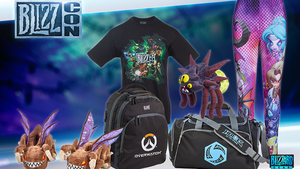The pre-sale of BlizzCon 2015 gear has begun exclusively for convention attendees and Virtual Ticket holders!