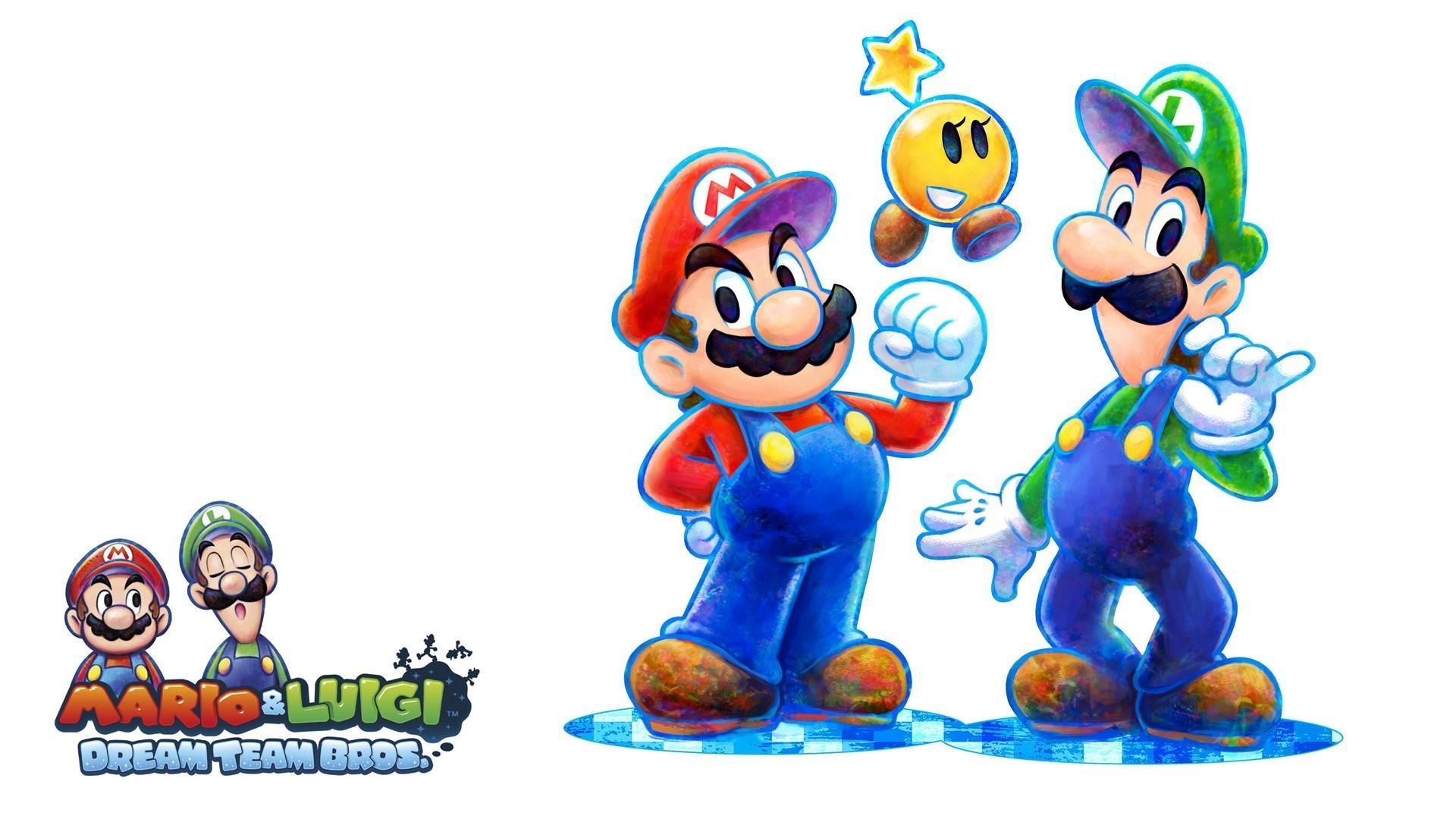 Mario Luigi Dream Team At First Glance D20crit