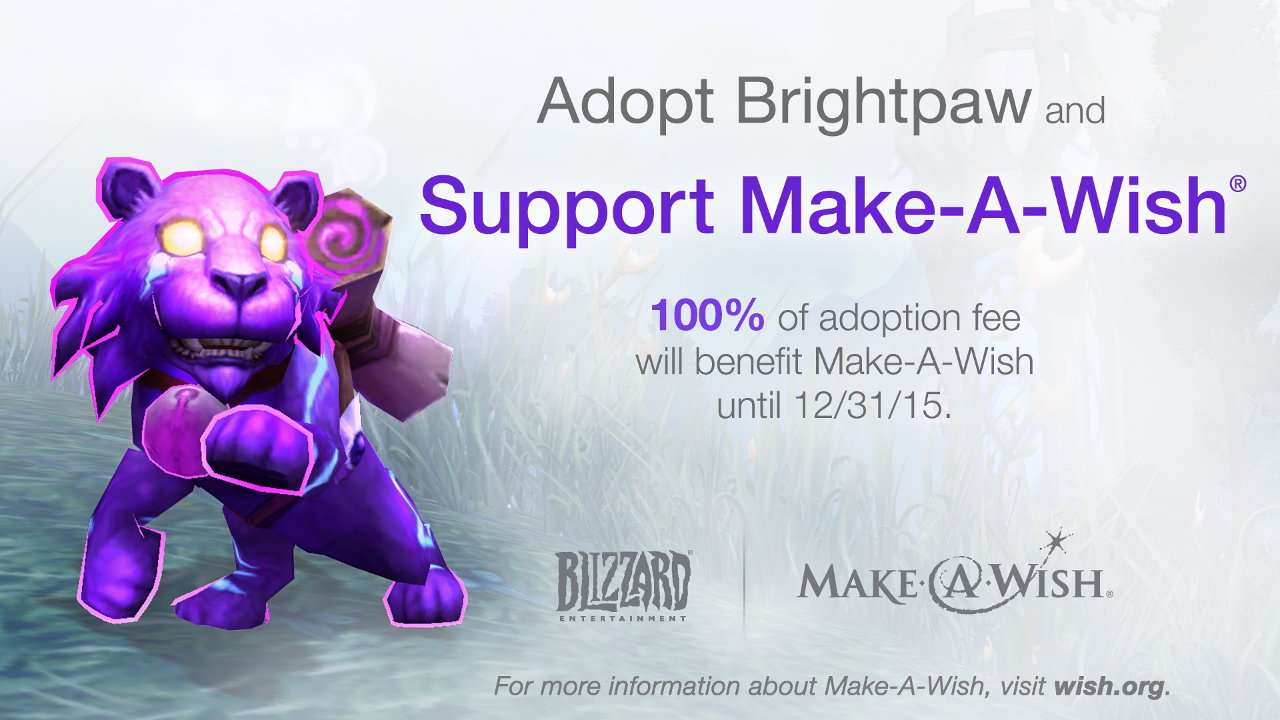 Meet a truly magical companion and support Make-A-Wish with Brightpaw, the Mana Kitty!