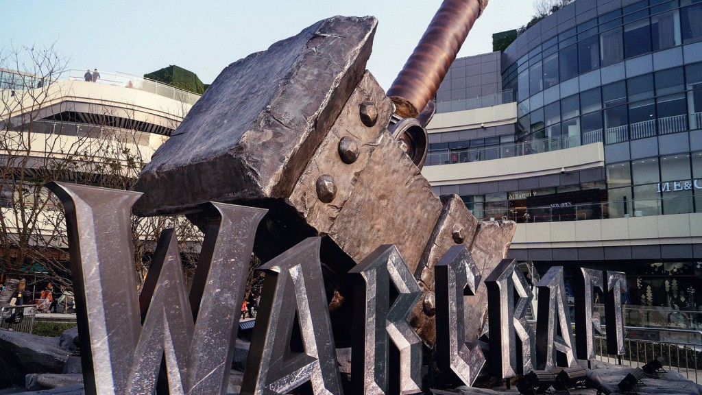 Warcraft movie exhibition tours China with over 150 props, weapons, and costumes.