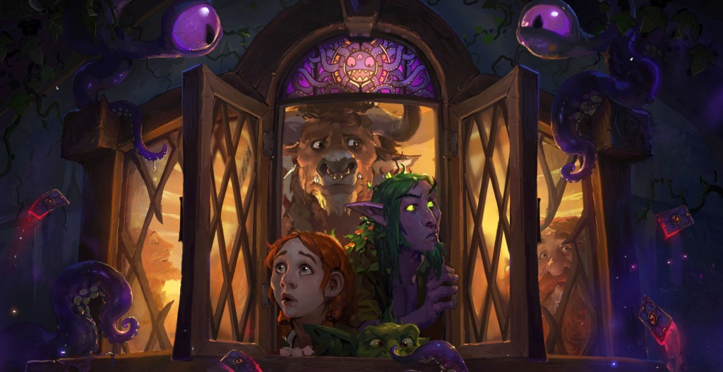 Gaze into the shadows and go mad from the new Hearthstone expansion, Whispers of the Old Gods.